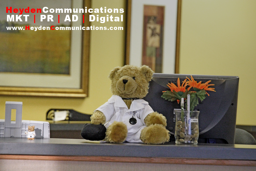 Holiday Public Relations Branded Bear